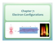 Chapter 7 Electron Configurations