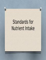 Standards for Nutrient Intake 2016 (1)