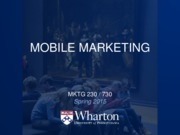 23 - Mobile Marketing