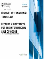 Lecture 5 Contracts for the International Sale of Goods.pptx