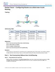5.1.3.6 Packet Tracer - Configuring Router-on-a-Stick Inter-VLAN Routing Instructions.docx