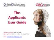online-disclosures---applicant-user-guide
