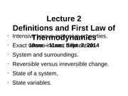 Lecture+2_Definitions+and+First+Law+of+Thermodynamics