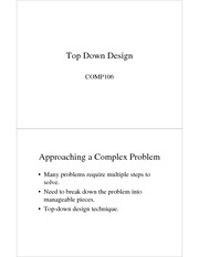 10TopDownDesign