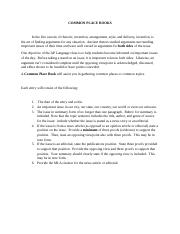 AP - Common Place Books (2).docx