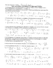 Homework 2 Solution on Probability and Statistics.