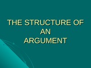 W2-b-structure of an argument