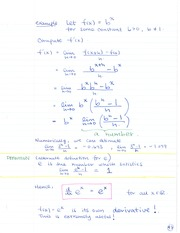 MATH 133 Positive Interger - Power Rule Notes