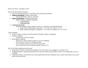 Conditional Reasoning Notes