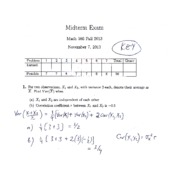 Midterm Solutions 2013