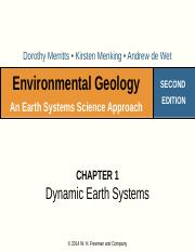 Week 1 Lecture Earth Systems(1)