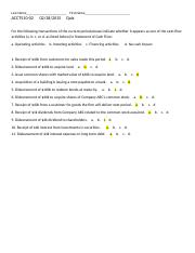 Spring15 ACT510-02 Quiz 02-25 CH6-Solution.docx