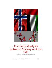 Economic analysis between Norway and the UAE_30.11.docx