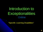 Session #6 Specific Learning Disabilities3