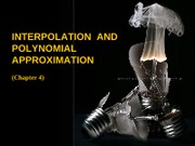 Chap 4 Interpolation & Polynomial Approximation (Taylor Polynomial @ Lagrange Approximation)