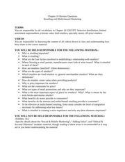 MKT 3010 Review Sheet Ch. 16: Retailing and Multichannel Marketing