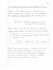 Indefinite Integrals and the Net Change Theorem