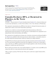 BPA is toxic. pdf