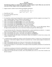 review problems chapter 5