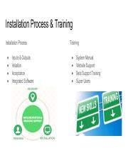 Installation Process and Training.pdf