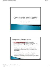 LG 1-6-  Governance and Agency (1)