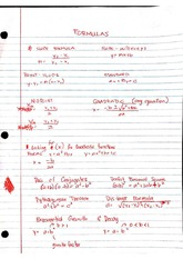 Mathematical Formulas for Physics II