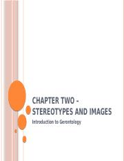 Chapter 02 Stereotypes and Images
