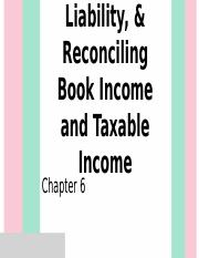 3 B Tax Expense Tax Liability Reconciling Book Income.pptx
