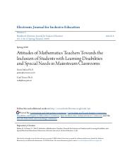 Attitudes of Mathematics Teachers Towards the Inclusion of Studen.pdf