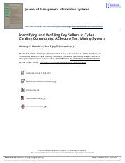 Identifying and Profiling Key Sellers in Cyber Carding Community AZSecure Text Mining System.pdf