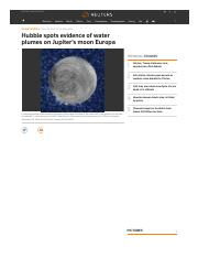Hubble spots evidence of water plumes on Jupiter's moon Europa _ Reuters.pdf