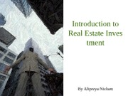 Class 12 Real Estate Investment