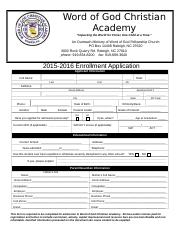 2015-2016Application