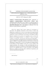 09 Abbot Laboratories Philippines, Inc. v. Abbot Laboratories Employees Union.pdf
