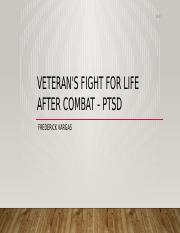 veteran's fight for life after combat - ptsd.pptx