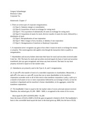 Corporate Tax Chapter 17 Homework