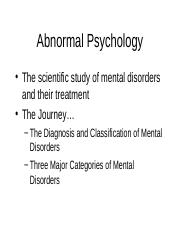 Ch. 15 Abnormal Handout.ppt