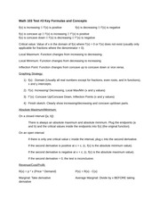 Math 103 Test 3 Formulas and Concepts(1) (1)