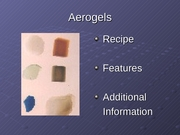 Aerogels_SLackey