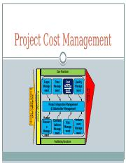 07-PMC-Project Cost Management