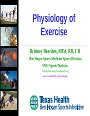Physiology of Exercise.ppt