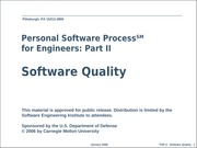 L6 Software quality