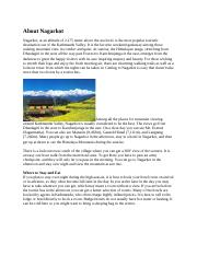 About Nagarkot
