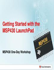 MSP430 Launchpad Energia Pinout http