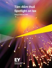 EY Vietnam_ Spotlight on tax_ February 2015