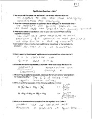 Worksheets Thermodynamics Worksheet Answer Key thermodynamics homework packet answer key 2 rha sign 9 pages equilibrium key