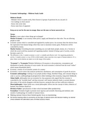 Econ152 Midterm Study Guide version 1