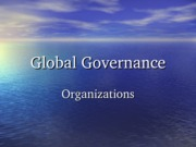 16 Chapter 13-Global Governance water