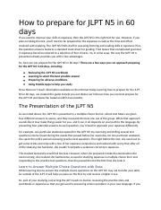 6.11 How to prepare for JLPT N5 in 60 days edit 1.docx