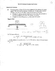 HW 04 Solutions